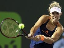 Tennis: A. Kerber - V. Williams