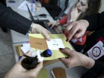 Abstimmung zu türkischem Verfassungsreferendum in Griechenland