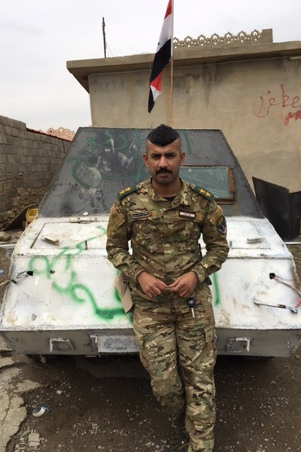 Mossul Kampf gegen den IS