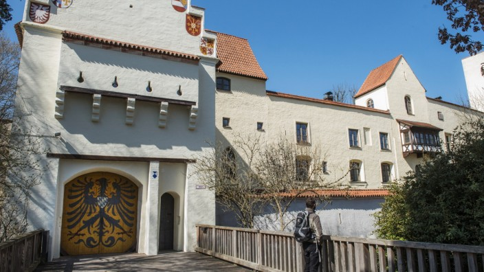 Grünwald, Burg,