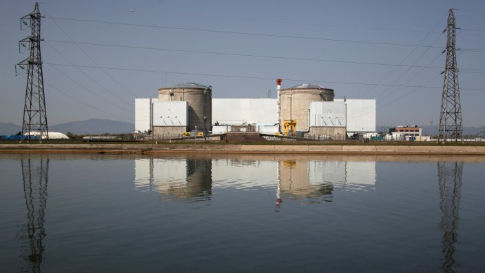 FILE PHOTO: View of France's oldest Electricite de France (EDF) nuclear power station is seen in Fessenheim