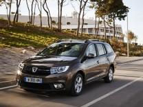 Dacia Logan MCV Fahrtansicht