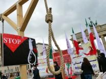Demonstration gegen Todesstrafe im Iran