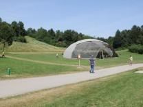 Geodätischer Dom Ostpark Simulation