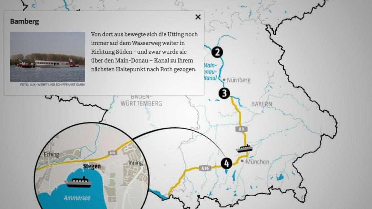 Die Ms Utting Ist In Bayern Angekommen Starnberg