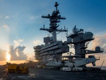 US-Flugzeugträger auf dem Weg nach Korea