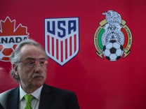 US, Canada and Mexico Soccer Bodies hold a joint press conference