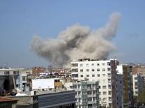 Schwere Explosion in türkischer Kurdenmetropole Diyarbakir