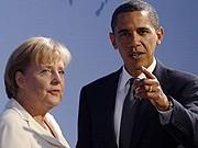 Merkel, Obama, Reuters
