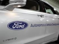 'Ford führend im Bereich autonomer Fahrsysteme' gemäß dem unab