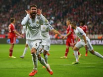 FC Bayern Muenchen v Real Madrid - UEFA Champions League Semi Final; Ramos