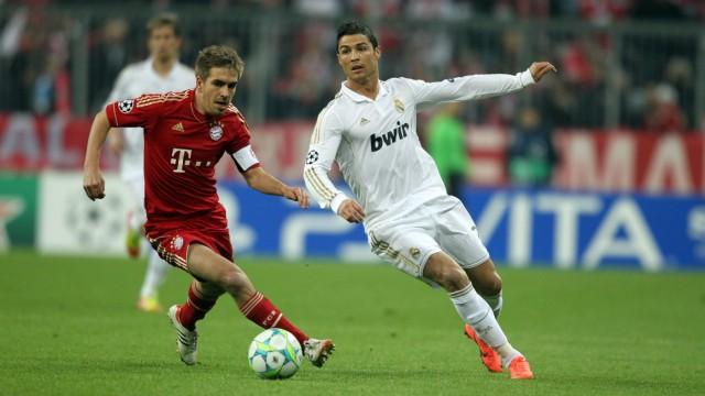 Fussball Championsleague   FC Bayern München  Real Madrid