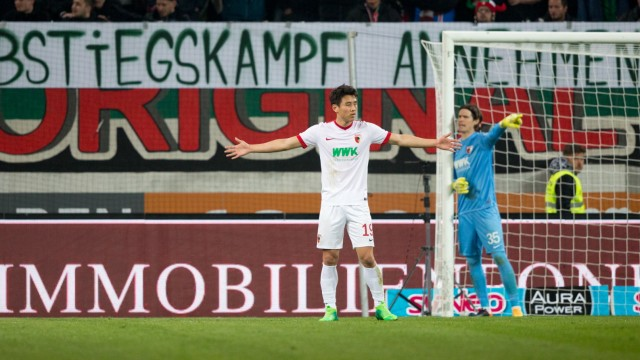 Fussball, FC Augsburg (A) - FC Ingolstadt (IN)