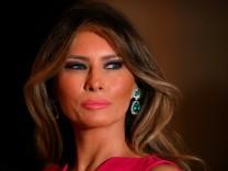 Setzt sich vor Gericht durcht:First Lady Melania Trump.