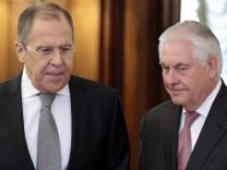 US-Außenminister Tillerson in Moskau