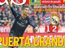 Pressestimmen Bayern-Real