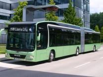 Stadtbus MAN Lion's City mit Elektroantrieb