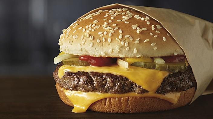 McDonald's Burger Verpackung