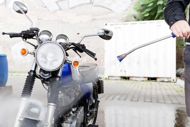 Hochdruckreiniger fürs Motorrad ohne verstellbare Düse kaufen