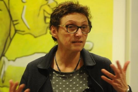 Stadtschulrätin Beatrix Zurek beim Elterndialog in München, 2016