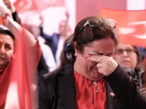 Türkei Referendum - Wahlparty der CHP Berlin