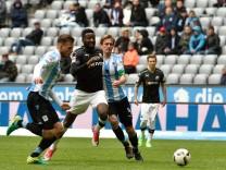 Marin Pongracic TSV 1860 Muenchen Richard Sukuta Pasu SV Sandhausen Kai Buelow TSV 1860 Muenc