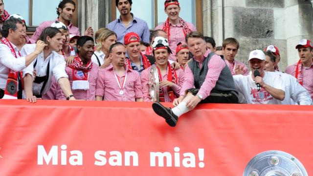 FC Bayern München feiert 22. Deutschen Meistertitel, 2010