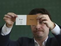 Türkei Referendum - Auszählung