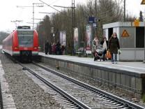 S-Bahnhof Englschalking in München, 2008