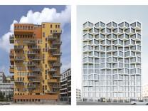 Balkonserie Häuser zusammengestellt für Ipad