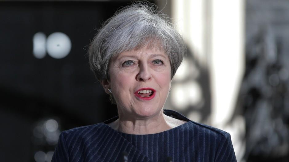 Theresa May Großbritannien