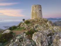 Talaia d Albercutx Formentor Halbinsel Mallorca Balearen Spanien