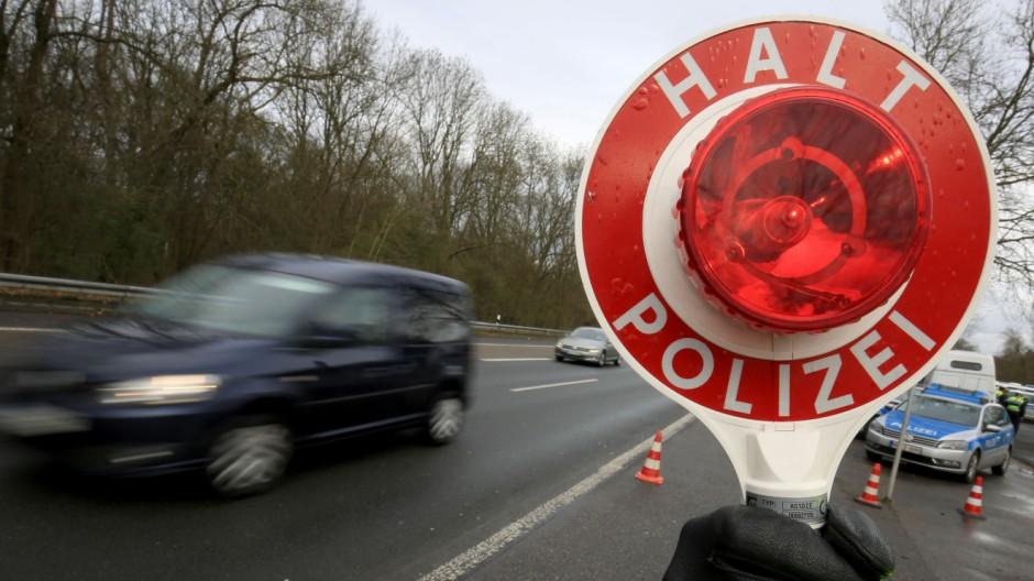 Verkehrskontrolle in Köln
