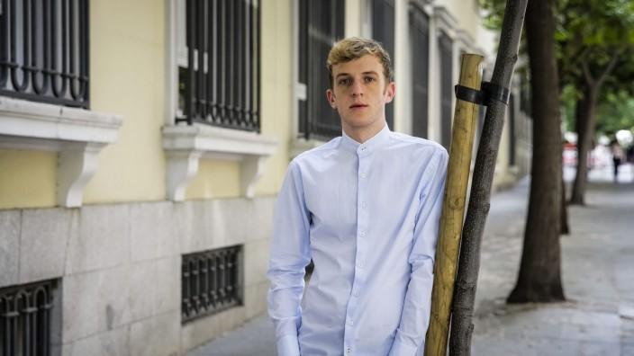 Edouard Louis book presentation in Madrid