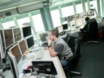 LEZ HBF, neue Lage- und Einsatzzentrale, 3 S-Zentrale