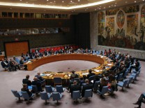 UN Security Council discusses Syria