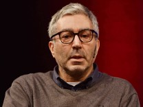 Der französische Autor Soziologie und Philosoph Didier Eribon liest am 16 03 2017 in Köln auf der L