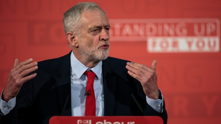 Labour Leader Jeremy Corbyn Begins Campaign For The 2017 General Election