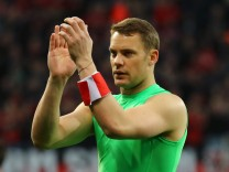 Bayern Munich's Manuel Neuer after the match