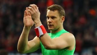 Bayern Munich's Manuel Neuer after the match
