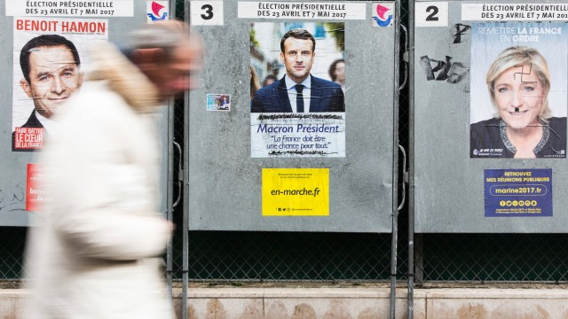 Wahl in Frankreich Präsidentschaftswahl
