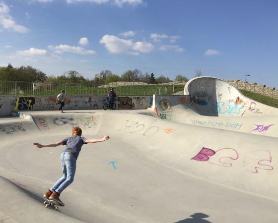 Skaten Im Gefilde
