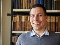 Stadtarchivar Simon Kalleder