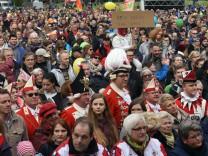 Proteste gegen Bundesparteitag der AfD