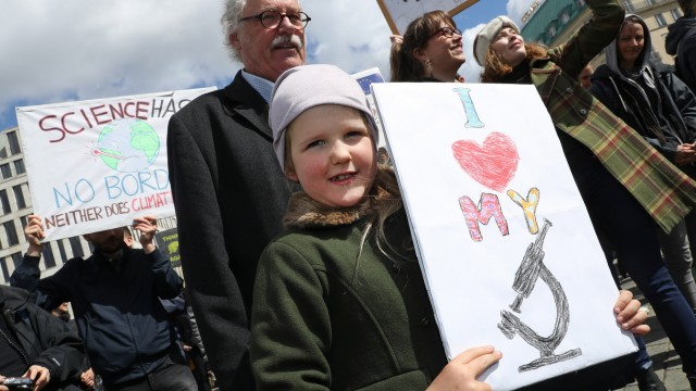March For Science In Germany