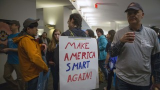 Marches for Science Take Place Around The Country