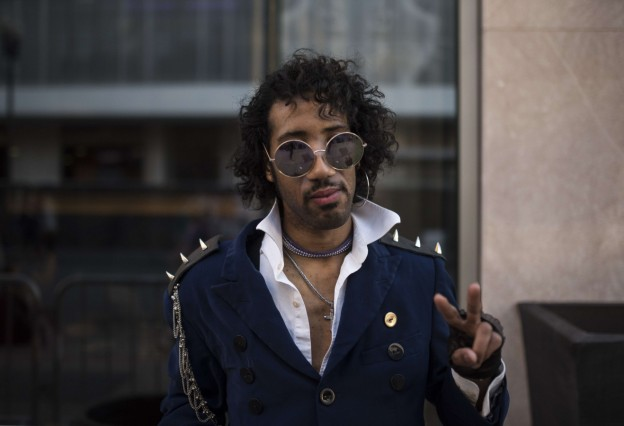 Street Party Held Marking One Year Since Death Of Prince