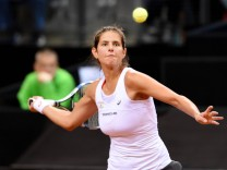 Julia Görges GER Deutschland Stuttgart Tennis FedCup Weltgruppe PlayOff Deutschland vs Ukrai