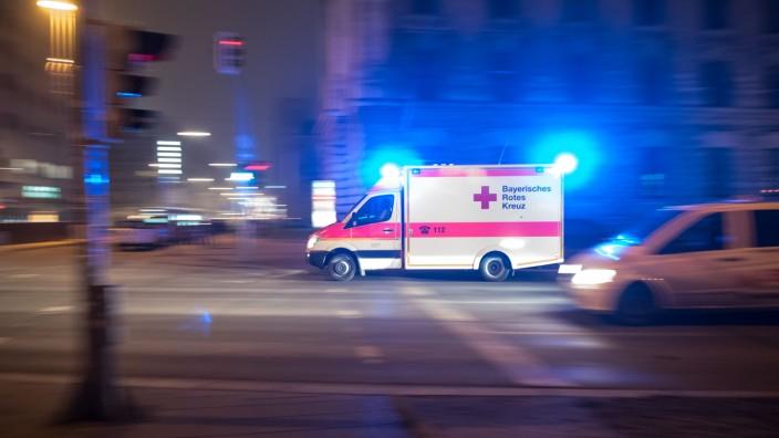 Rettungswagen in München, 2015