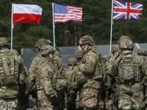 NATO-Soldaten in Polen